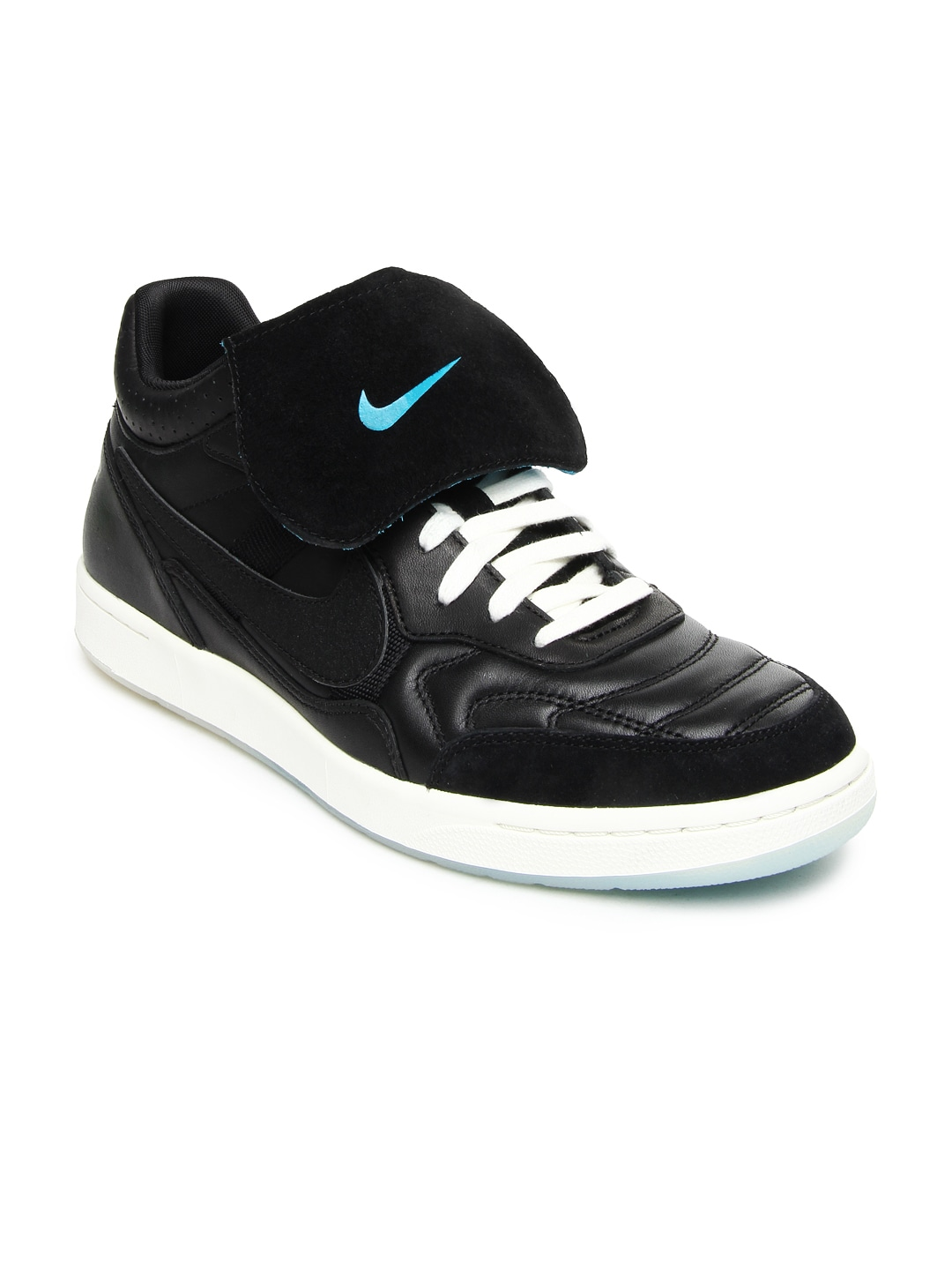 nike black tiempo 94 nsw casual shoes