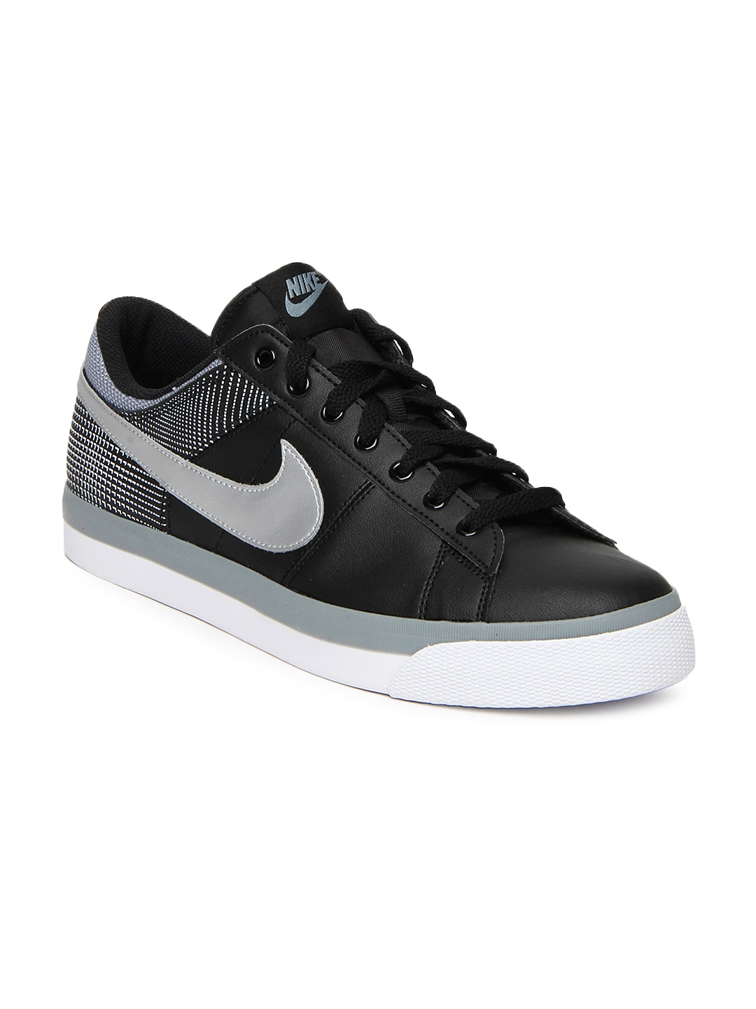 buy nike black match supreme nsw casual shoes 632