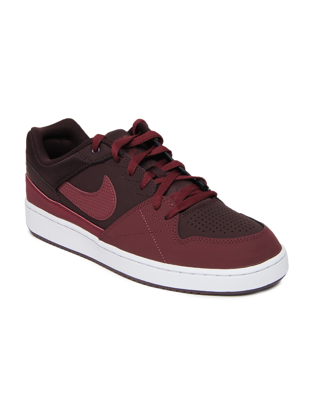 Nike Maroon Priority Low Casual Shoes