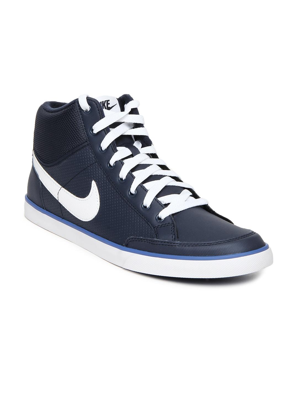 nike casual sneakers mid navis