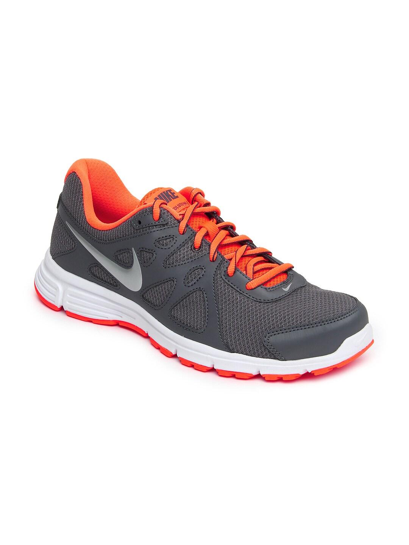 buy nike men grey revolution 2 msl sports shoes 634. Black Bedroom Furniture Sets. Home Design Ideas