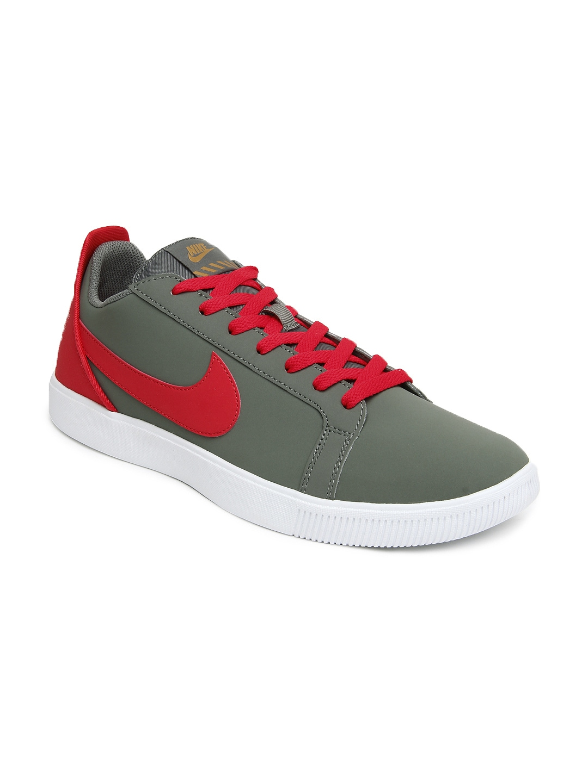 buy nike grey sportswear classic casual shoes 632