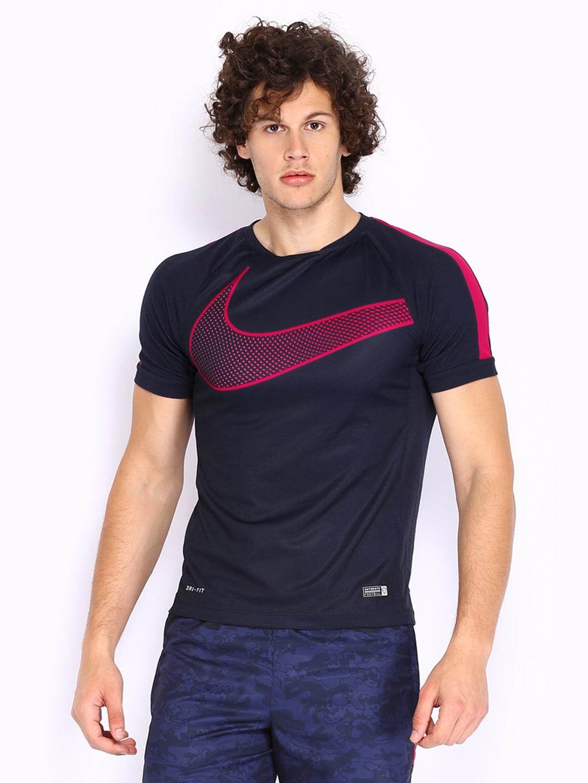 nike men navy t shirt ForNike T Shirt Price