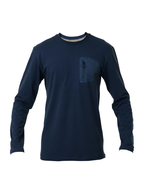 Buy nike men navy blue t shirt 289 apparel for men 67039 for Navy blue and white nike shirt