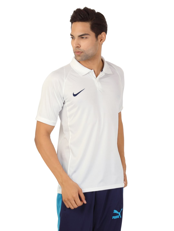 White Polo Shirt Men