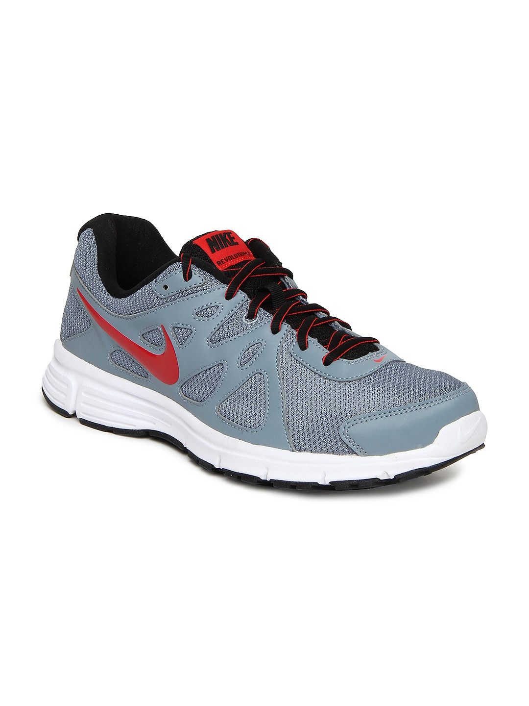 nike grey revolution 2 msl sports shoes