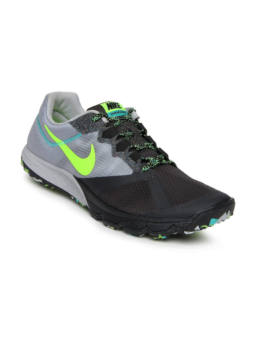 nike grey zoom wildhorse 2 sports shoes