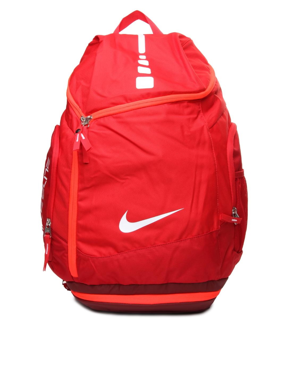 Buy Nike Red Hoops Elite Max Air Team Basketball Backpacks ...