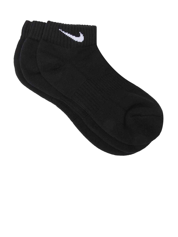 Nike Black 3Pack Cushion Low Cut  Training Socks