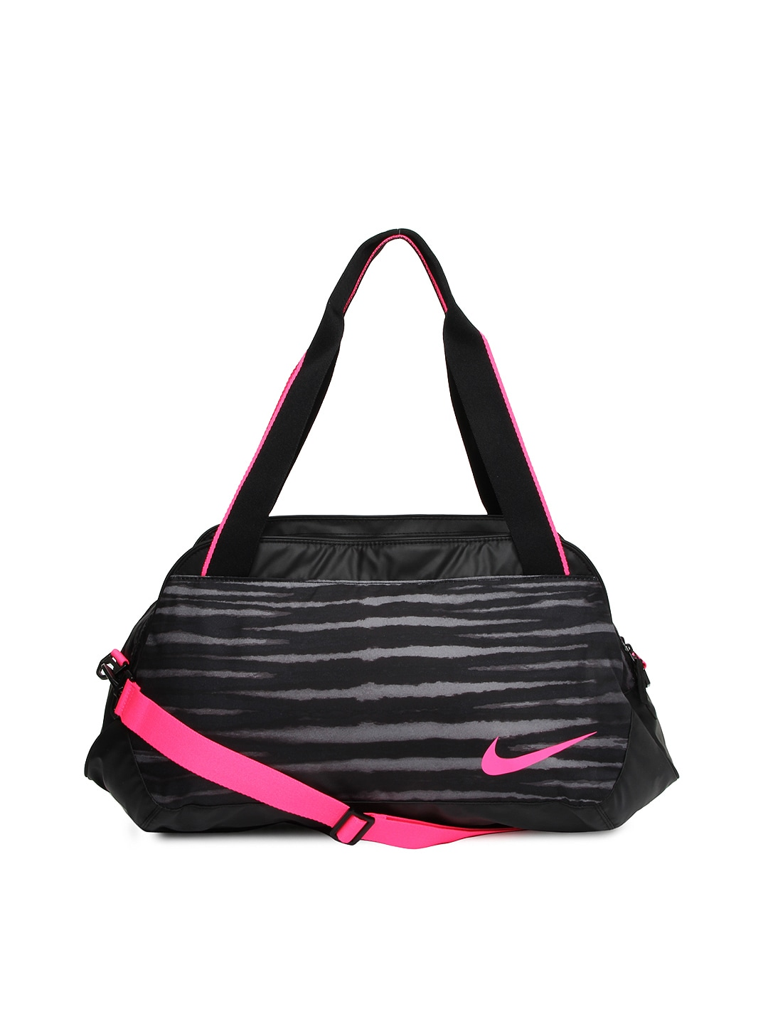 Original NIKE WOMEN39S Girls GYM CLUB TRAINING DUFFLE BAG BA5167010 PINK BLACK