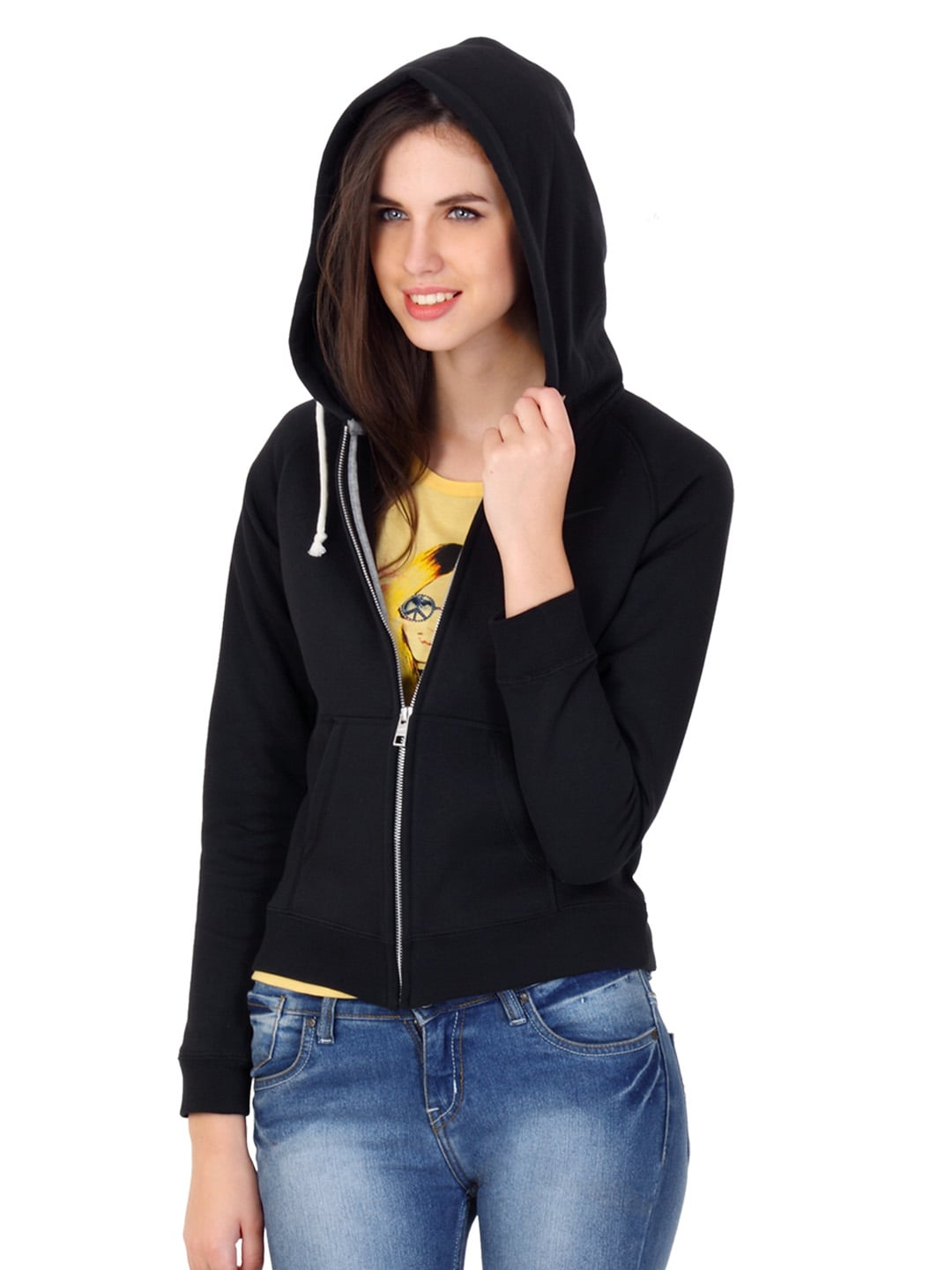 Good Watch Brands For Men >> Buy Nike Women Black Hooded Sweatshirt - 290 - Apparel for ...