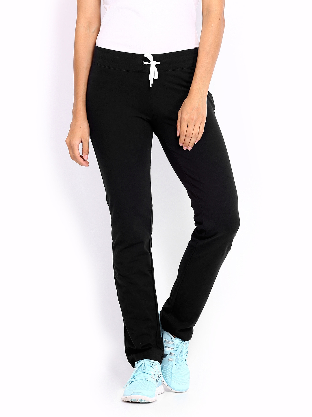 Cool Nike Women Charcoal Grey Legend Track Pants Online Shopping India