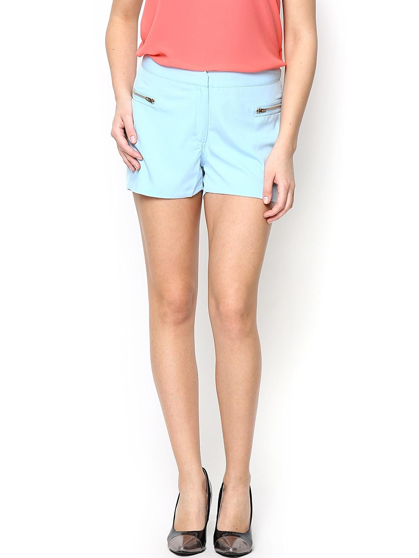 ONLY Women Light Blue Shorts