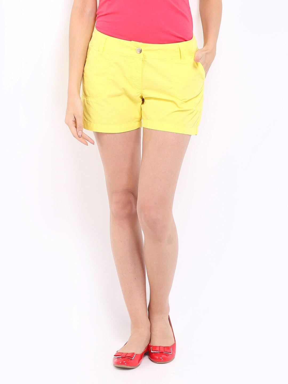 ONLY Women Yellow Short