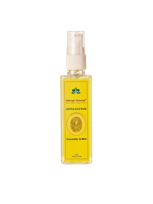 Oilcraft Naturals Unisex Cucumber & Mint Face Wash
