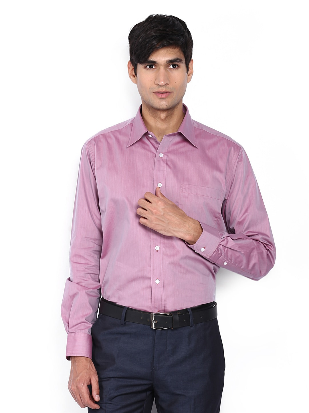 Oxemberg Oxemberg Men Pink Formal Shirt (Multicolor)