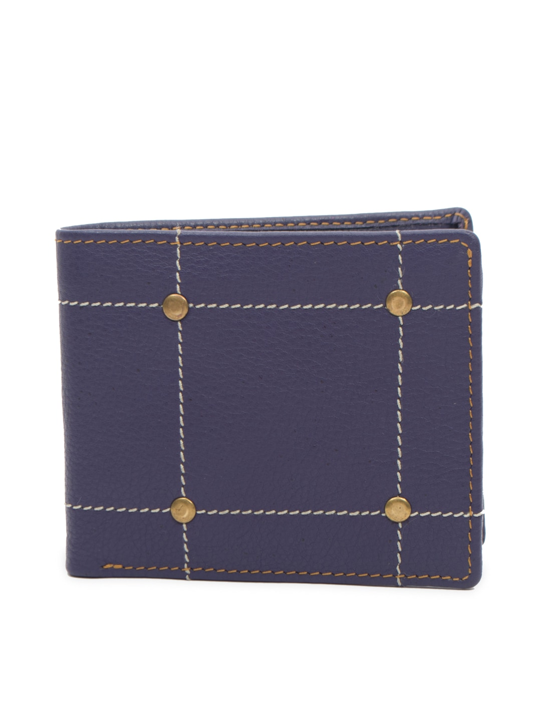 Paradigm Paradigm Design Lab Men Navy Blue Wallet (Multicolor)