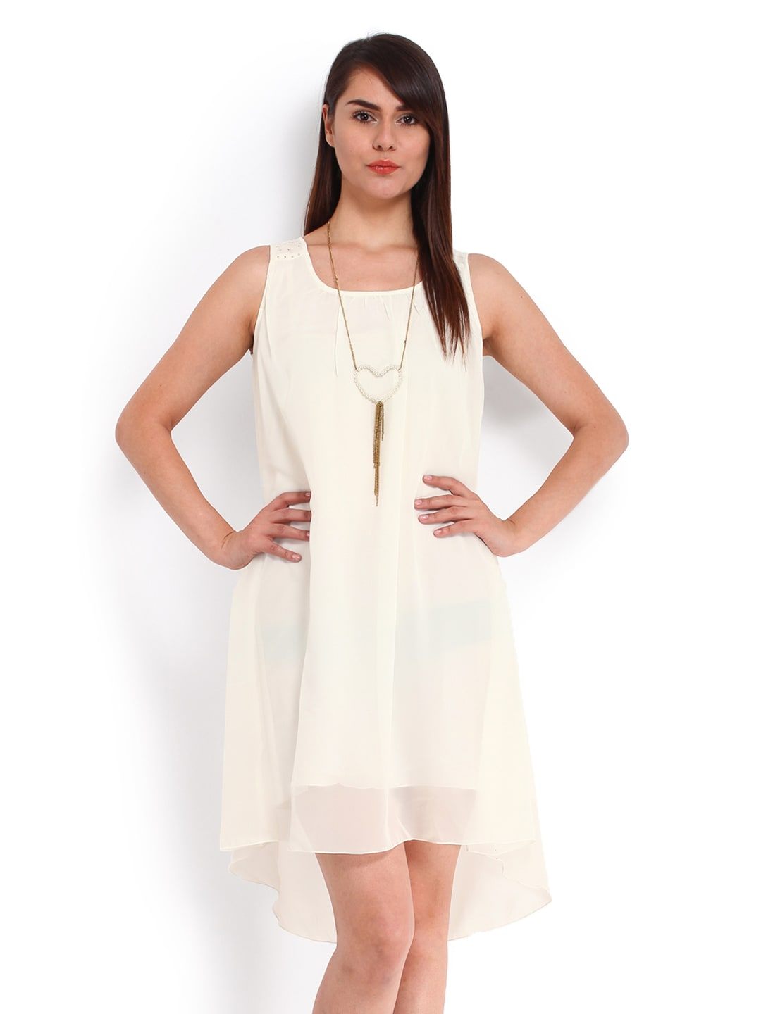 People OffWhite ALine Dress