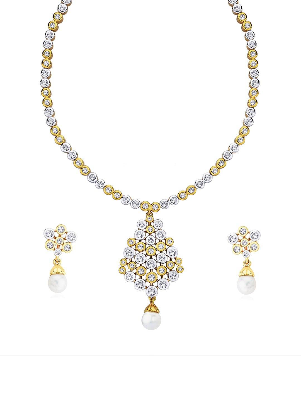 Peora Gold Plated Jewellery Set