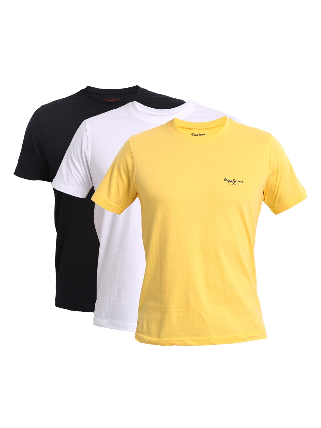 Buy Pepe Jeans Men Pack Of 3 T Shirts - 289