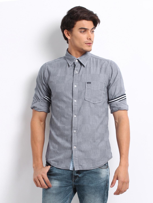 0b88ce8a3b9 Jeans Casual Shirt Myntra - BCD Tofu House