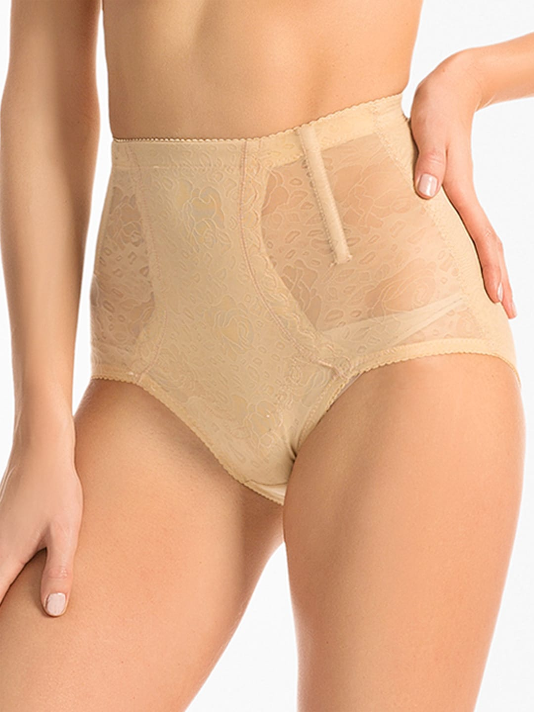 PrettySecrets Nude-Coloured High Waist Shaping Brief PSSH2014AW008