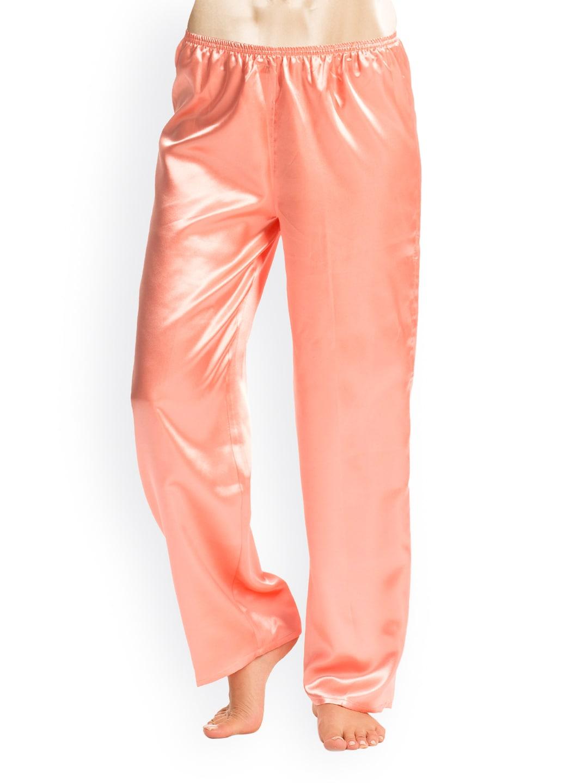 PrettySecrets Women Coral Orange Lounge Pants PSW14SPJ07