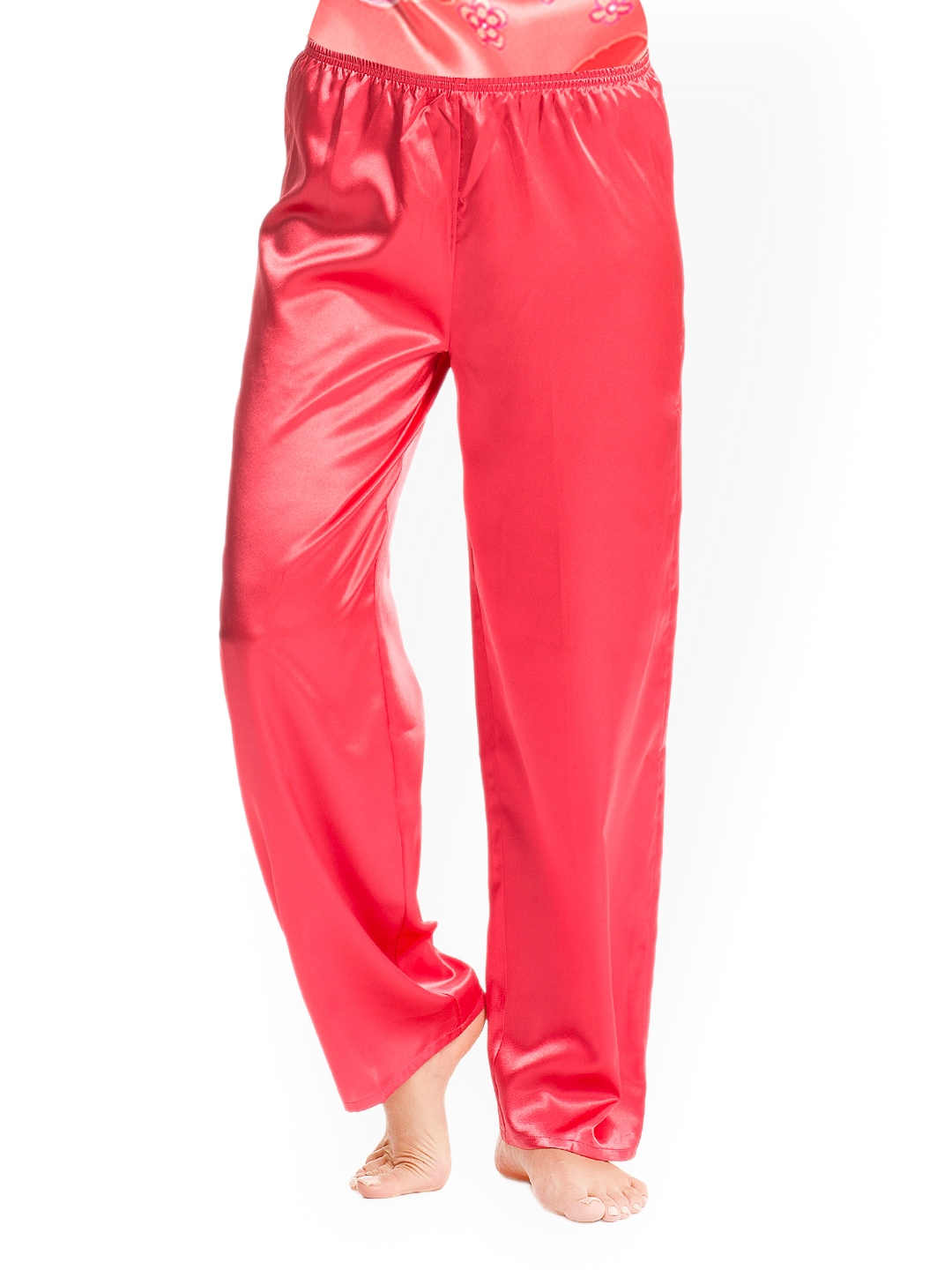 Pretty Secrets Red Satin Lounge Pants PSW14SPJ06