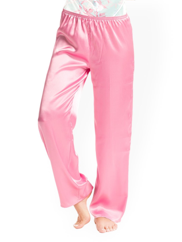 Pretty Secrets Pink Satin Lounge Pants PSW14SPJ08