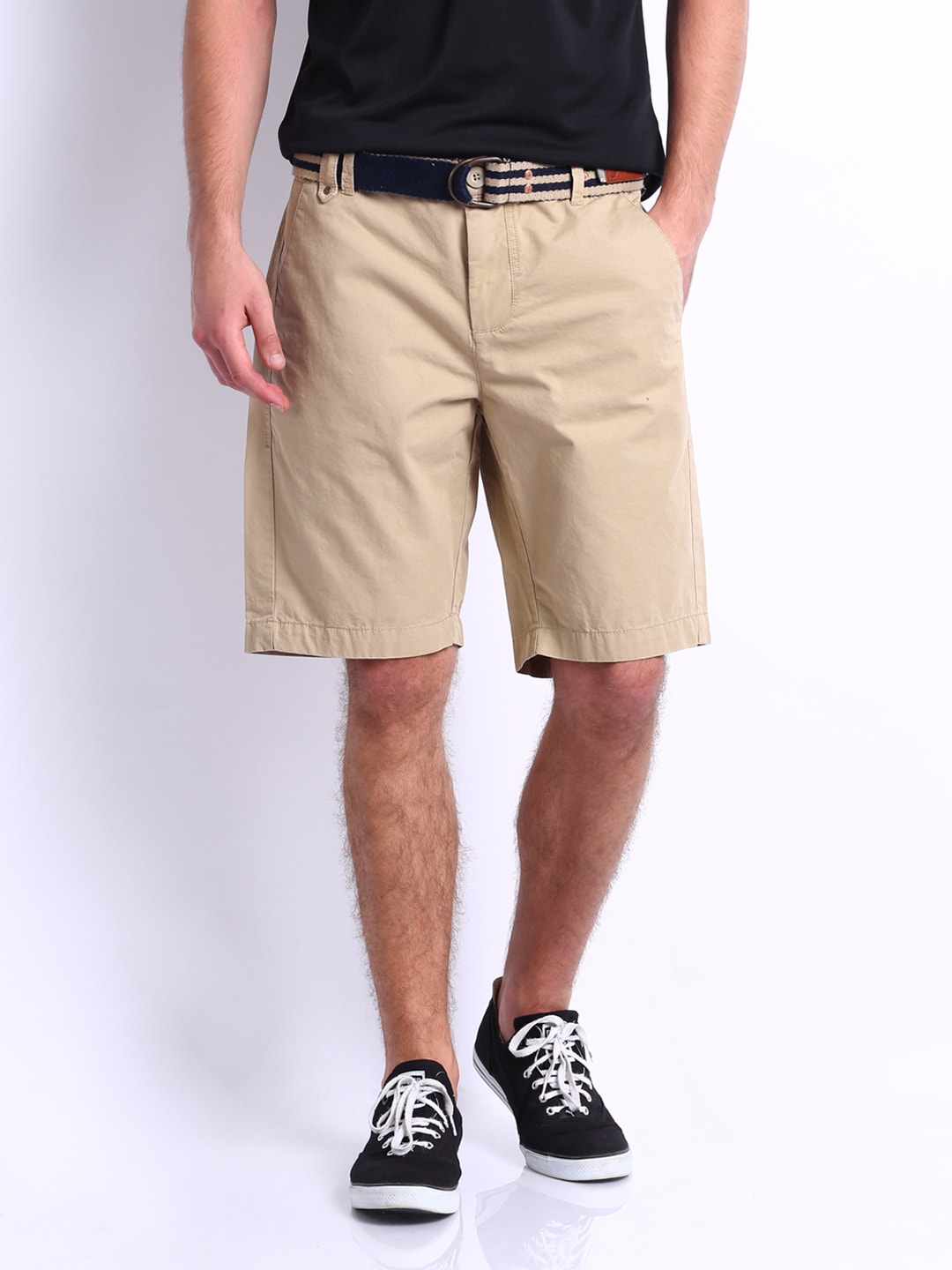 Buy Puma Men Beige Chino Shorts - 303
