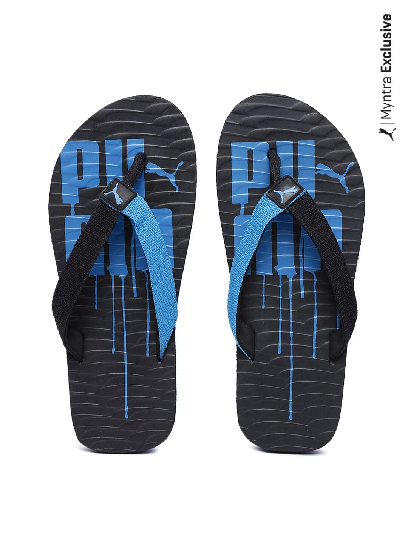 2eb12455fdef Buy Puma Men Black   Blue Miami 5 DP Flip-Flops (multicolor ...