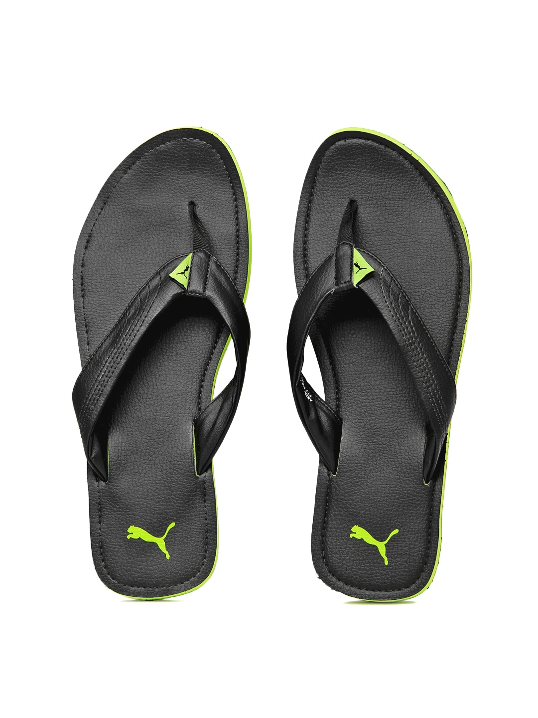 buy puma men black ketava ind flip flops flip flops for. Black Bedroom Furniture Sets. Home Design Ideas