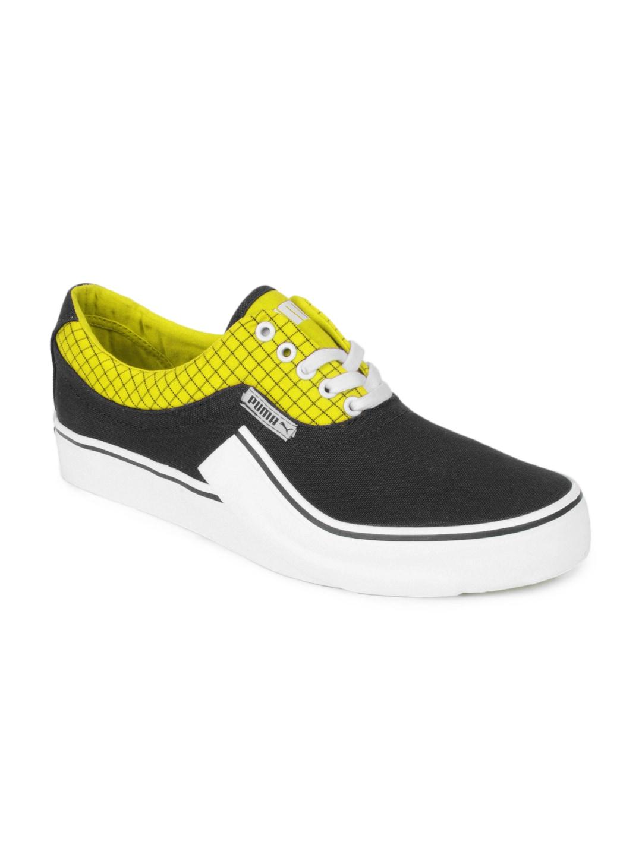f534b9fd Puma Men Black Villian S Casual Shoes