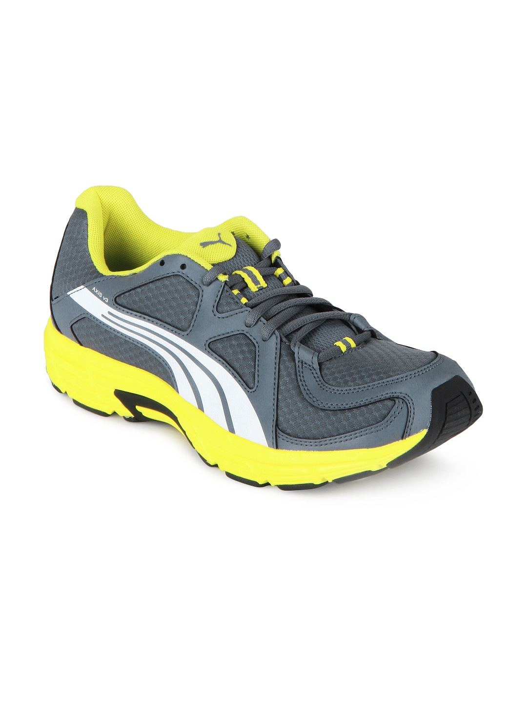 buy grey yellow axis v3 sports shoes 634