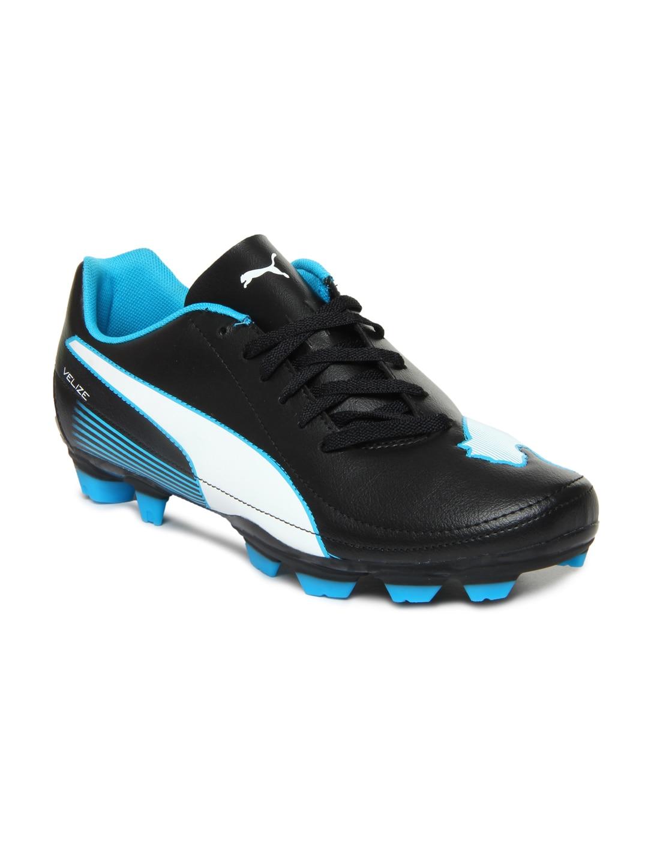 Buy Puma Men Black Velize II FG Sports Shoes - 634 ...