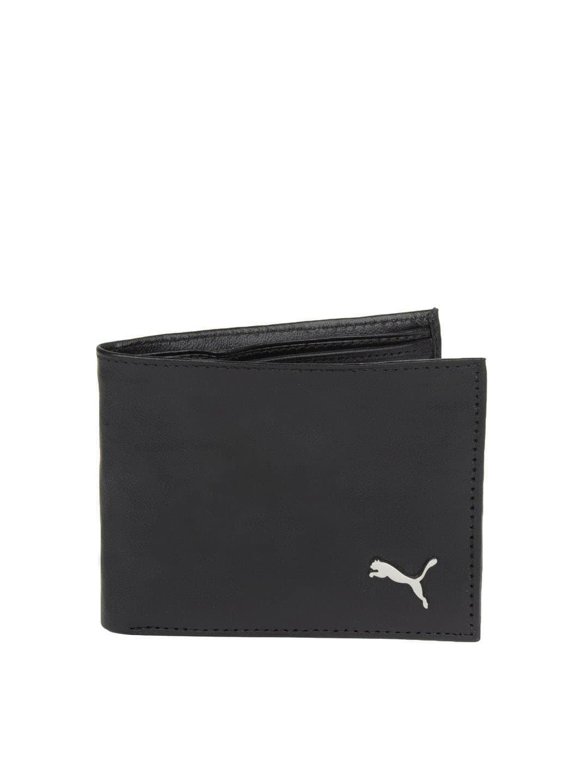 Buy Puma Men Black Wallet Wallets For Men Myntra
