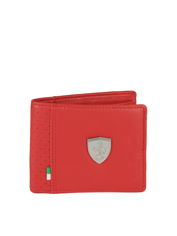 puma ferrari wallet red