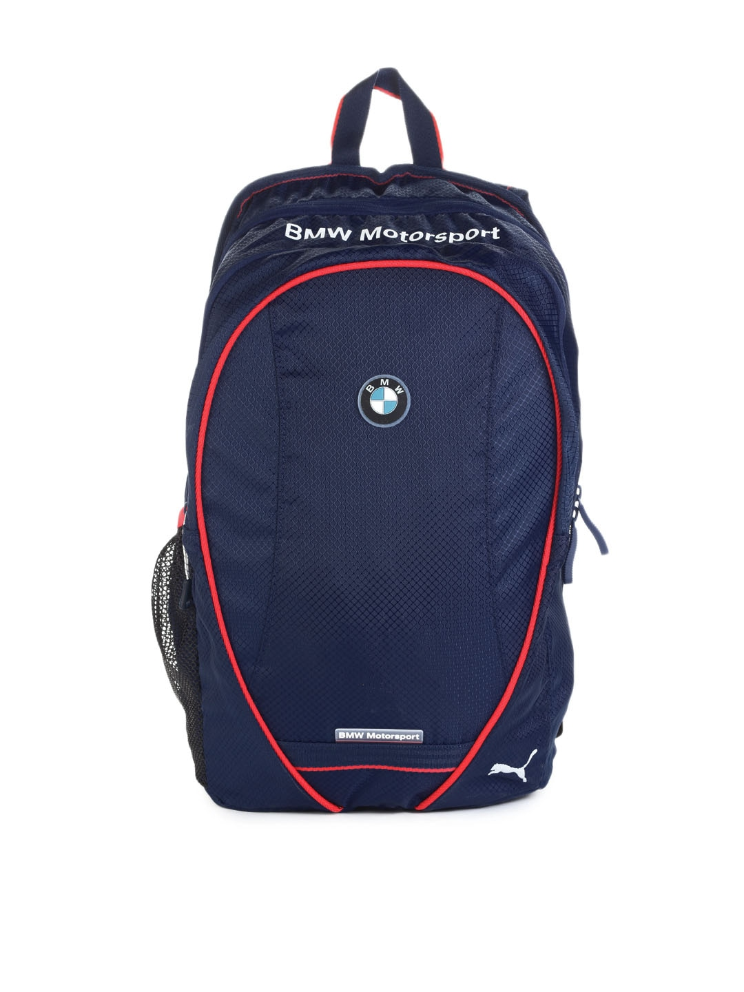 buy puma unisex blue bmw motorsport backpack 294. Black Bedroom Furniture Sets. Home Design Ideas