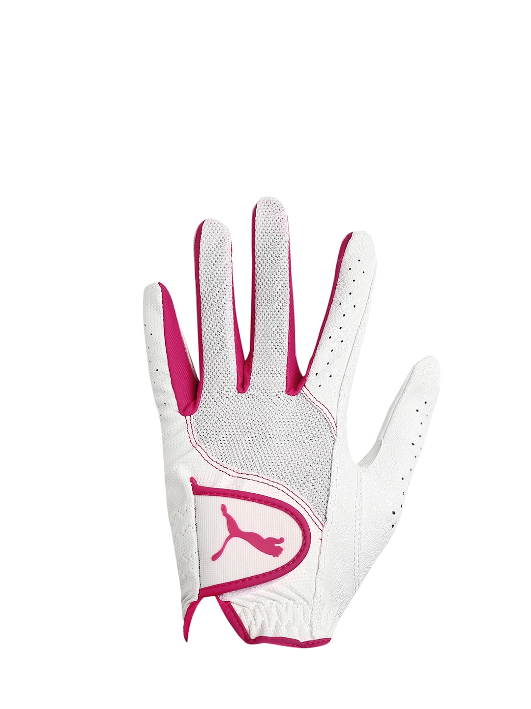 PUMA Women White Sport Performance Left Single Glove
