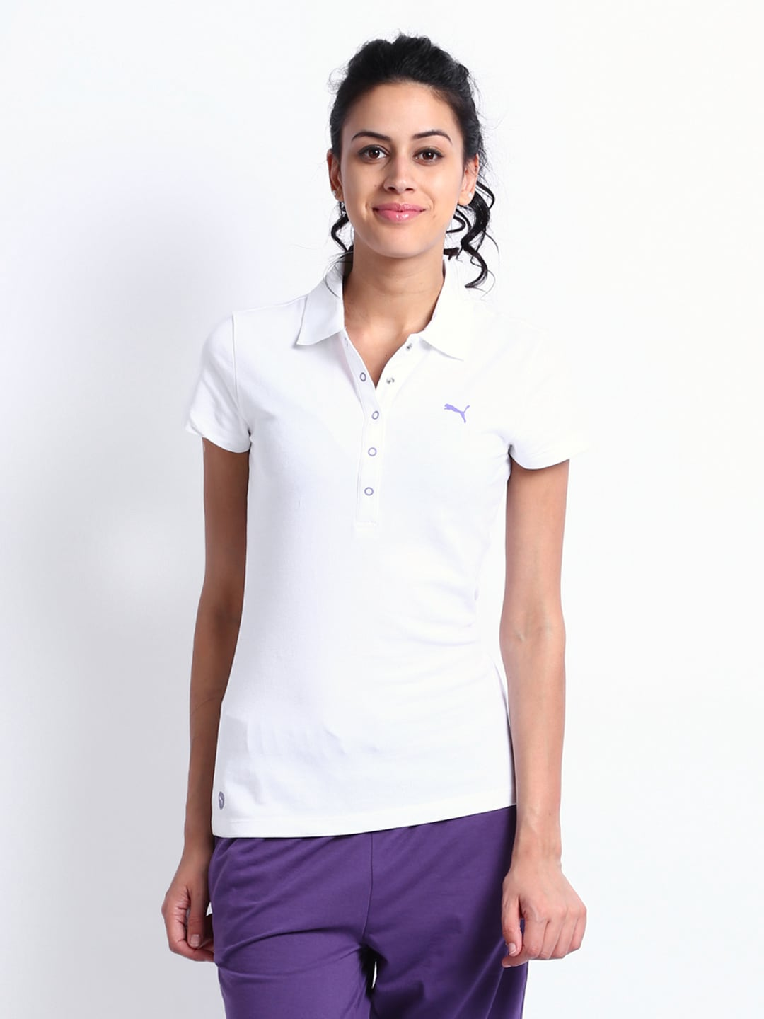 polo single girls Wilson polo shirt junior girls this wilson polo shirt has a regular fold over collar with a single button fastening placket it has short sleeves and mesh panelling to allow the skin to breathe easily.