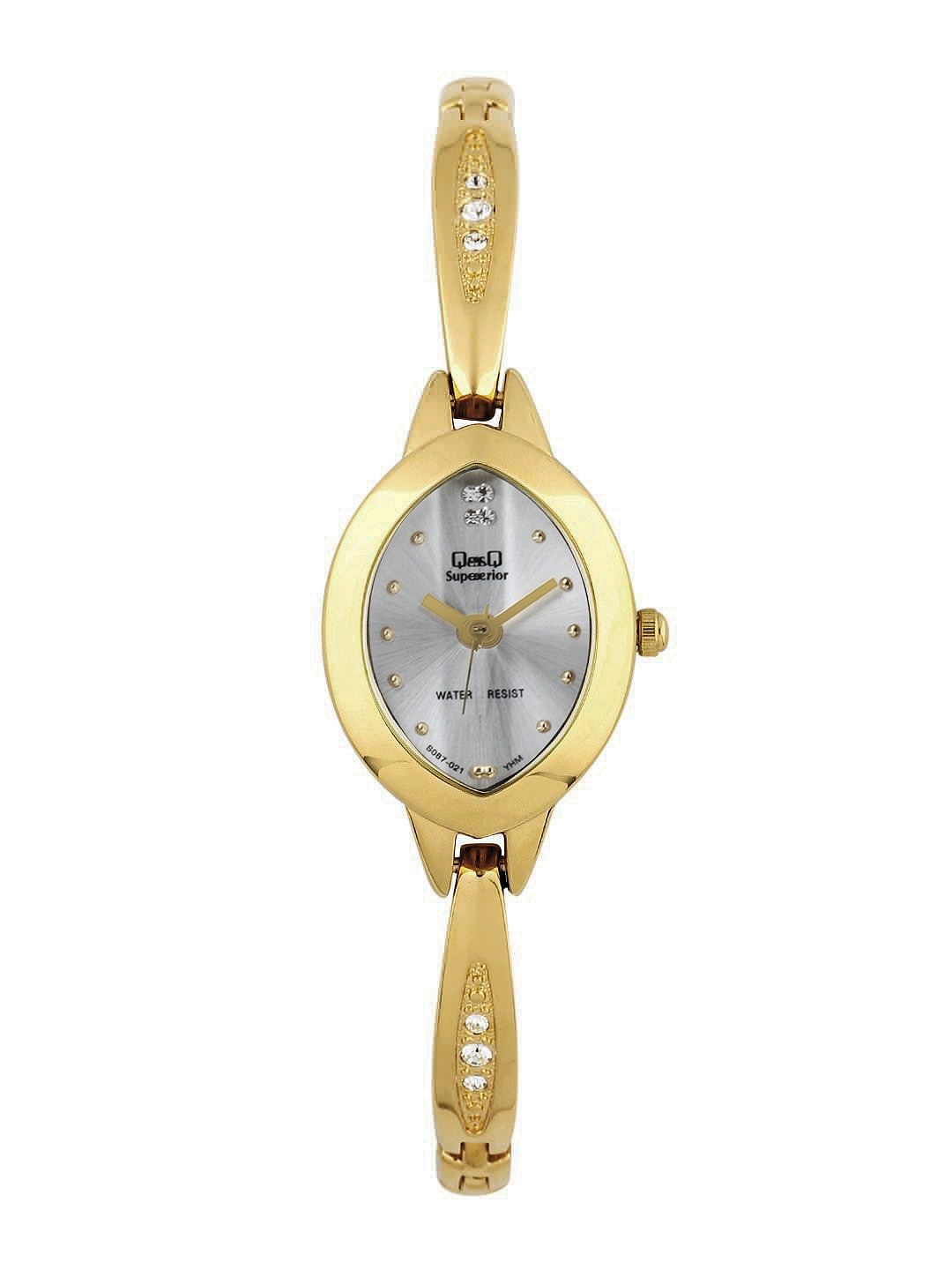 Q&Q Superior Women Silver Toned Dial Watch