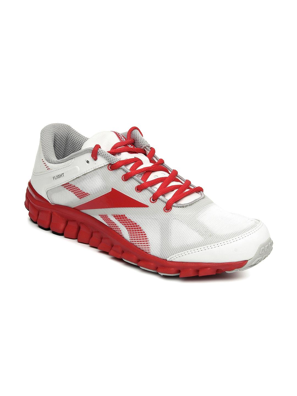 buy reebok white realflex flight sports shoes