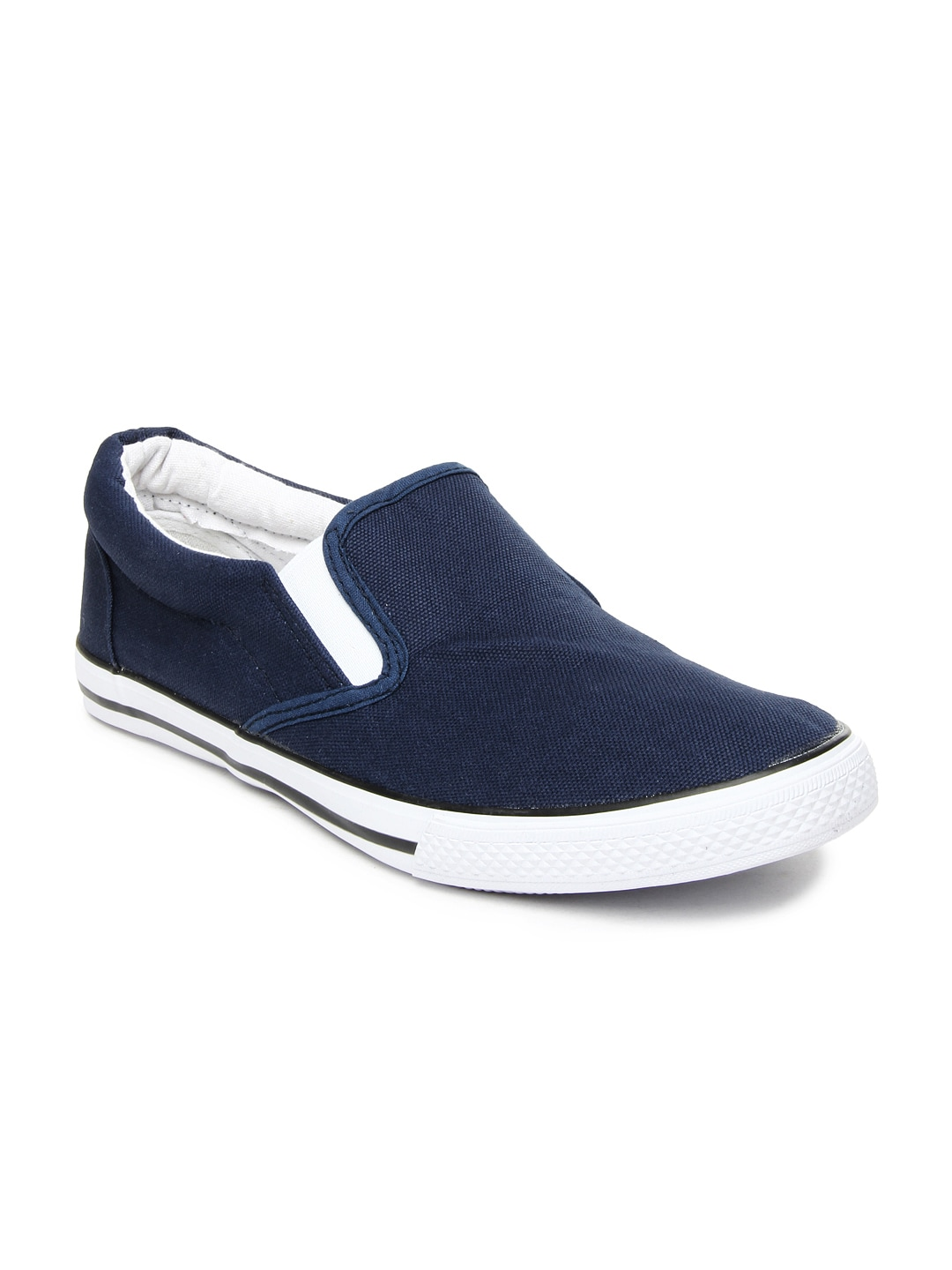 Buy Roadster Men Navy Casual Shoes - 632 - Footwear for Men - 193883