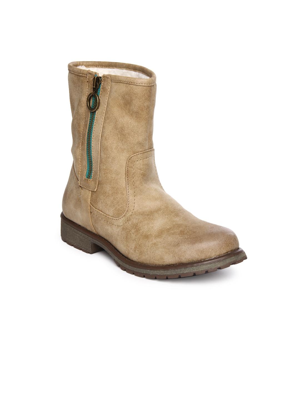 Roxy Roxy Women Beige Boots (Beige\/Sand\/Tan)