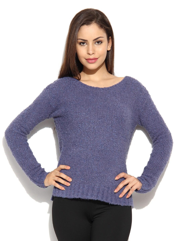 Roxy Roxy Women Blue Jack Frost Sweater (White)