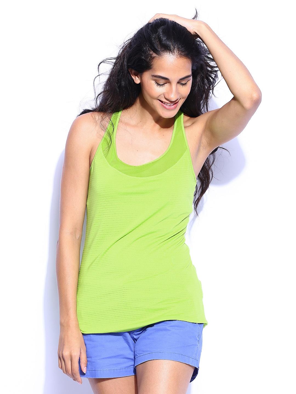 Roxy Roxy Women Fluorescent Green Hello Sunshine Top (Multicolor)