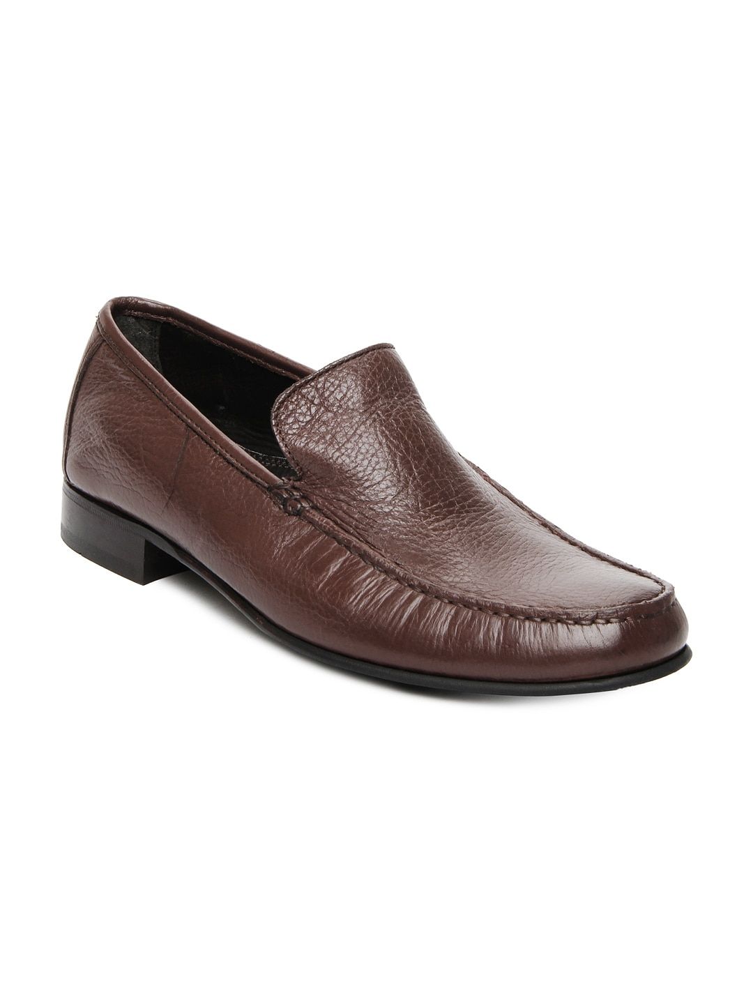 Ruosh Men Brown Leather Formal Shoes
