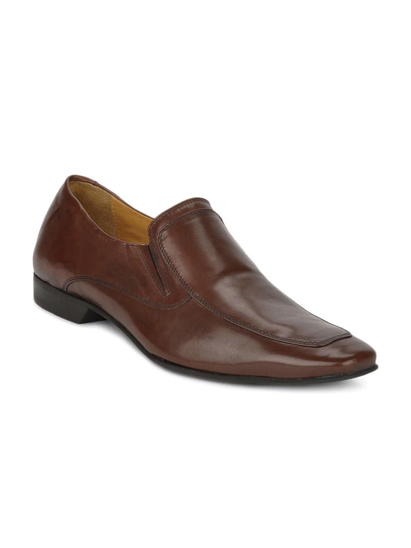 Ruosh Work Classic Men Brown Slip On Shoes