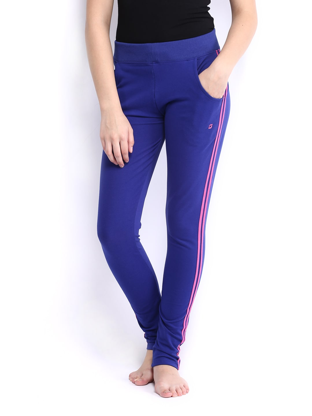 SDL by Sweet Dreams Women Blue Lounge Pants F-LAP-4176