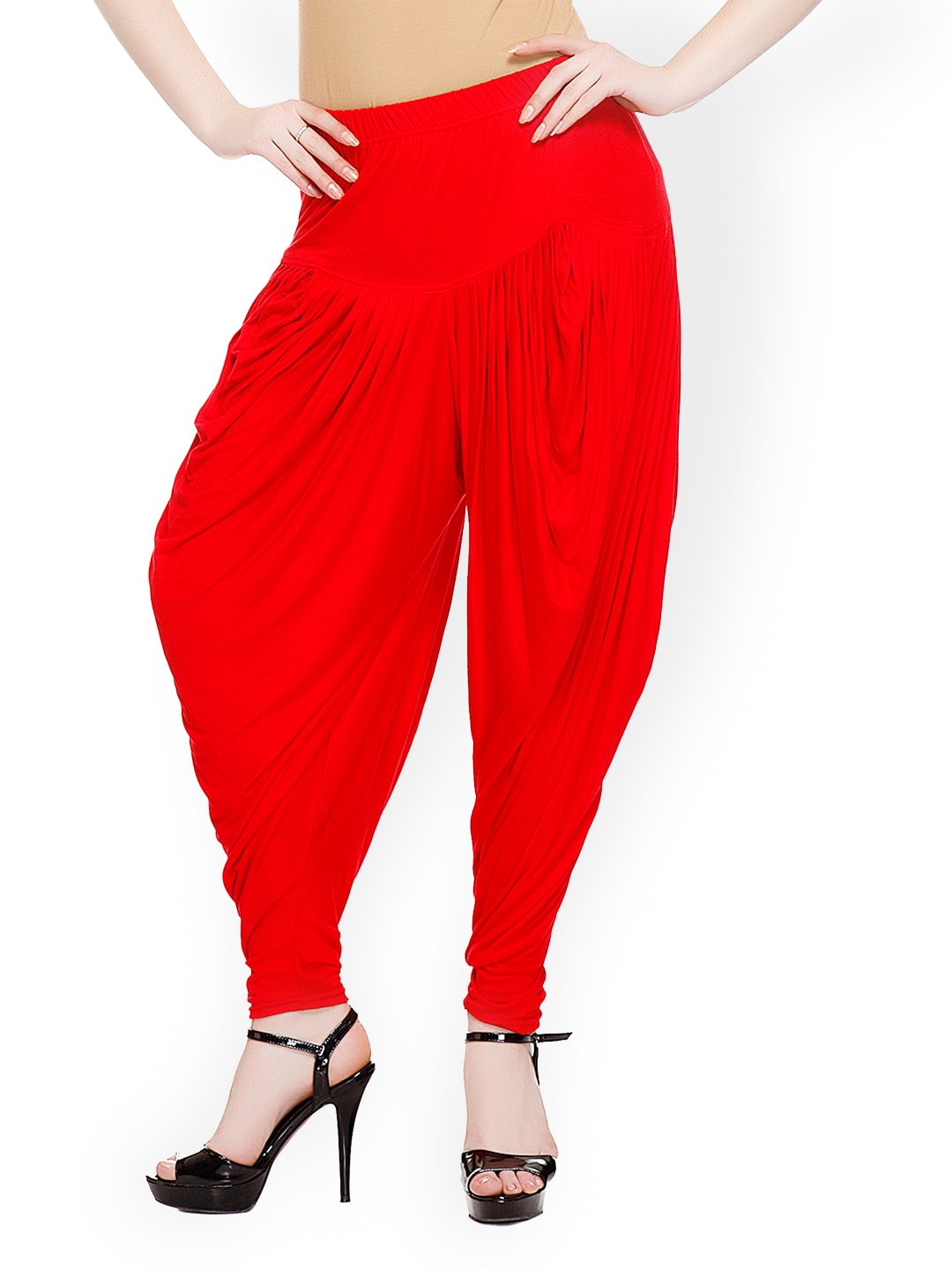 Sakhi Sang Women Red Harem Pants